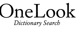 OneLook.com
