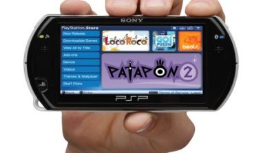 Sony announces compact new PSP model PSP GO!