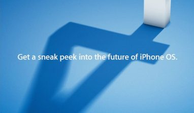 Apple to annouce iPhone 4.0 Software at April 8th Event