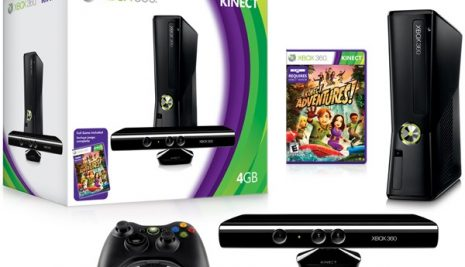 Microsoft announces pricing for Kinect and a new Xbox 360 4GB console.