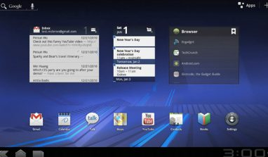 Android 3.0 Honeycomb and T-Mobile G-Slate by LG