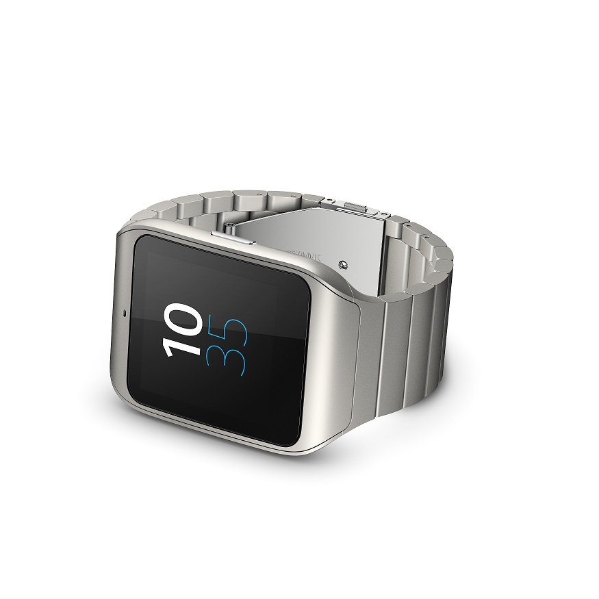 SmartWatch3 stainless steel back