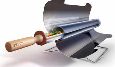 GoSun solar cooker: a tasty step towards environment protection