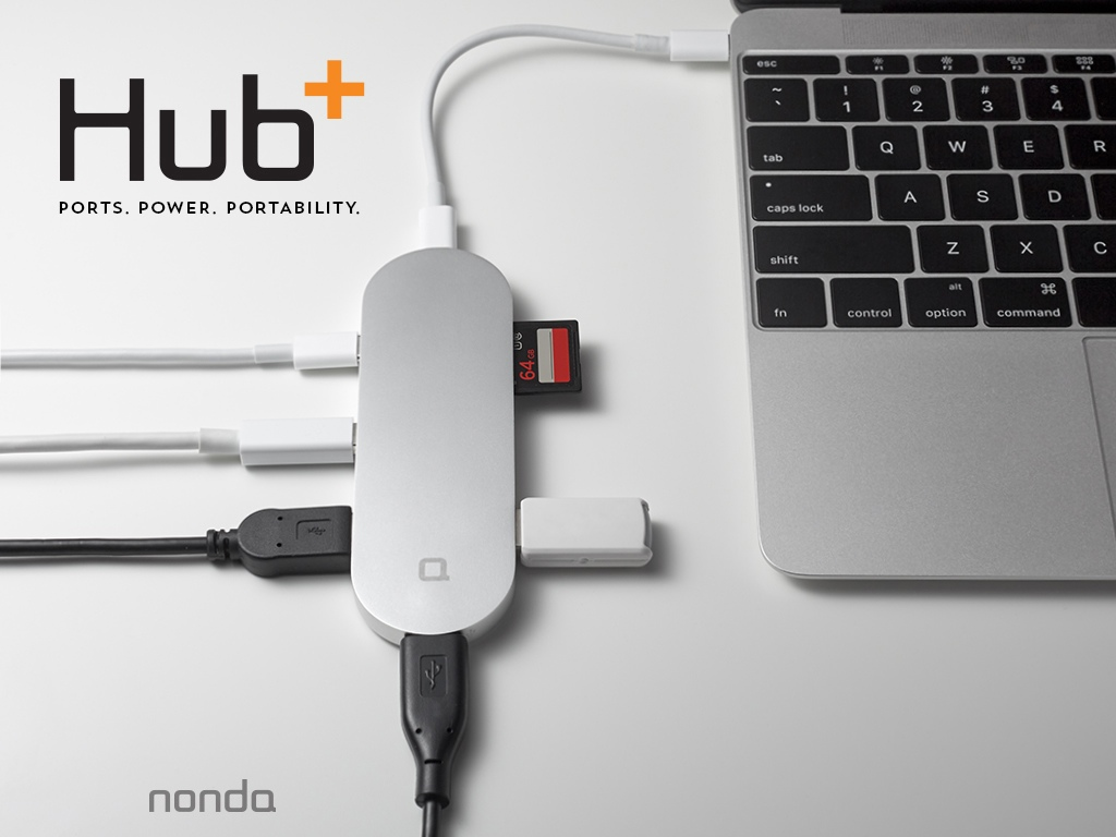 Port USBC Hub A Gold Solution To Macbook Connectivity Issues - Port usb c