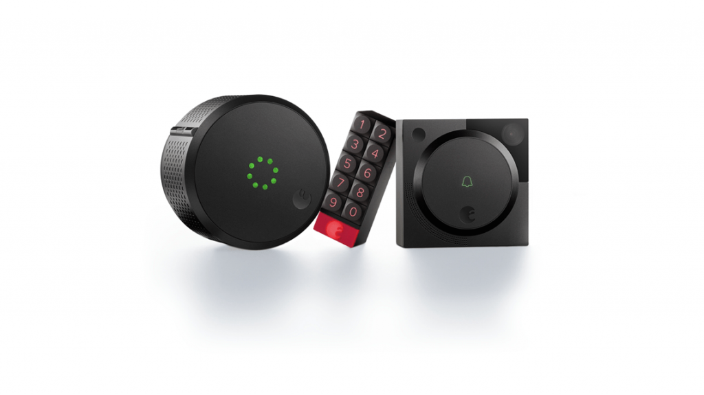 August unveils a Homekit-enabled lock, keypad and doorbell ...