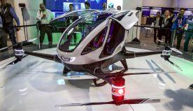 CES 2016 – EHang 184 Autonomous Passenger Drone