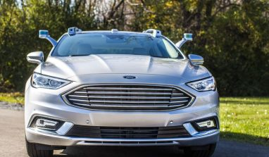 Ford Fusion Autonomous Car Seems just like any other street car