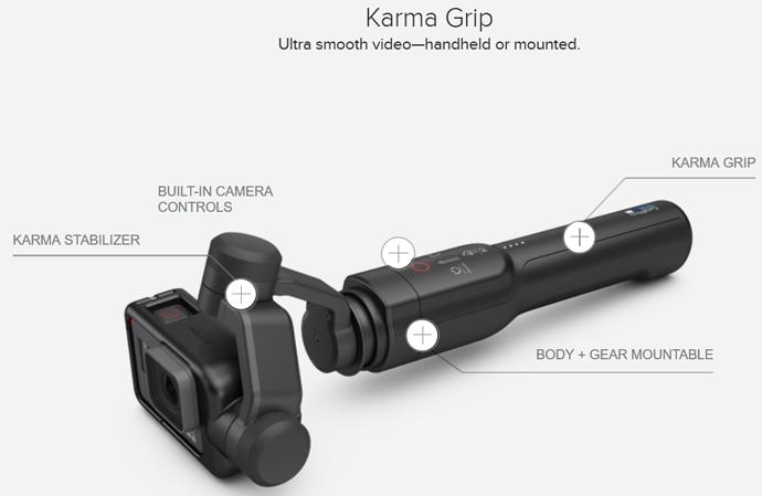GoPro Karma Grip Drone