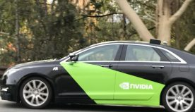 NVIDIA is testing its self driving car in California