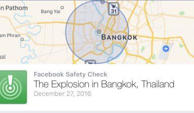 Facebook's False Alarm for Bangkok Explosion