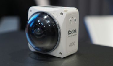 Kodak 4K 360 Degree Camera Debuts at CES 2017