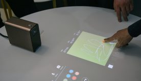 Sony Xperia Projector Dishes out Touchable Android